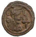 SASANIAN KINGDOM: Yazdigerd I, 399-420, AE pashiz (1.45g), G-—, cf. SNS-92/94 and A67 for pashiz in