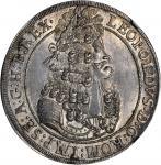 AUSTRIA. Taler, 1701. Hall Mint. Leopold I (1657-1705). NGC MS-64.