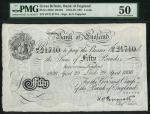 Bank of England, Kenneth Oswald Peppiatt (1934-1949), 」50, Leeds 29 April 1936, serial number 82/X 2