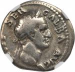 GALBA, A.D. 68-69. AR Denarius, Rome Mint, ca. A.D. July 68-January 69.