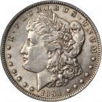 1894 Morgan Silver Dollar. AU-55 (PCGS). CAC.