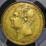 GREAT BRITAIN George IV ジョージ4世(1820~30) 2Pounds 1823 PCGS-XF45 VF+
