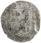 SPAIN: Fernando and Isabel, 1469-1504, AR 4 reales, Seville, ND, CC-2814, assayer D variety with D i