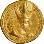 "SASSANIAN EMPIRE. Shahpur I, A.D. 240-272. AV Dinar (7.55 gms), Mint I (""Ctesiphon""), ca. A.D. 260-2"