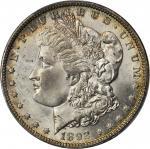 1892-O Morgan Silver Dollar. MS-64+ (PCGS).