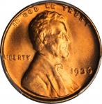 1936 Lincoln Cent. FS-103. Doubled Die Obverse. MS-67+ RD (PCGS).