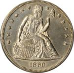 1860-O Liberty Seated Silver Dollar. OC-2. Rarity-1. Unc Details--Altered Surfaces (PCGS).