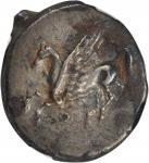 ACARNANIA. Thyrrheion. AR Stater (8.26 gms), ca. 320-280 B.C.