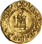 ITALY. Genoa. Scudo dOro, ND (First Phase 1528-41). Mint Master Letters CG. The Biennial Doges (1528