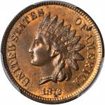 1872 Indian Cent. MS-64 RB (PCGS). CAC.