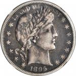 1895-S Barber Half Dollar. VF-30 (NGC).