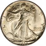 1936-D Walking Liberty Half Dollar. MS-66 (PCGS).