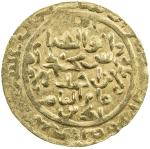 AMIR OF WAKHSH: Abu l- Abbas, 1221-1224, AV dinar (2.51g), NM, AH618, A-E1754, clear date, including