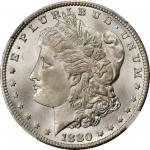 1880/79-CC Morgan Silver Dollar. VAM-4. Top 100 Variety. Reverse of 1878. MS-67 (NGC).