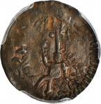 COLOMBIA. Cartagena. 1813 1/2 Real. Restrepo 131.3. Copper. EF-45 BN (PCGS).