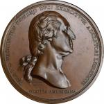"Washington Before Boston medal. Second Paris Mint issue. First Issued ""Original"" Obverse / Second Is"