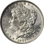 1901 Morgan Silver Dollar. MS-63 (PCGS).