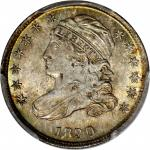 1830 Capped Bust Dime. JR-8. Rarity-3. MS-66+ (PCGS).