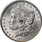 1892-CC Morgan Silver Dollar. MS-65 (PCGS).