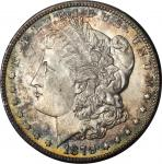 1879-S Morgan Silver Dollar. Reverse of 1878. Top 100 Variety. MS-64 (PCGS). CAC.