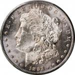 1893-CC Morgan Silver Dollar. MS-63 (PCGS).