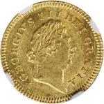 GREAT BRITAIN. 1/3 Guinea, 1803. George III (1760-1820). NGC MS-63.