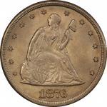 1876-CC20美分 PCGS MS 65