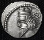 Parthian Kinggdom パルティア王国 AR Drachm  ヴォロガセス3世 105~147AD VF~EF