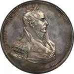 1812 Captain Jacob Jones / USS Wasp vs. HMS Frolic. Original. Silver. 64.5 mm. By Moritz Furst. Juli