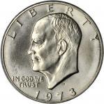 1973-S Eisenhower Dollar. Silver Clad. MS-69 (PCGS).