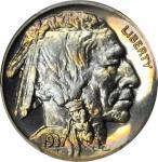 1937 Buffalo Nickel. Proof-68 (PCGS).