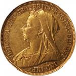 GREAT BRITAIN. 5 Pounds, 1893. Victoria. NGC AU Details--Reverse Scratch, Cleaned.