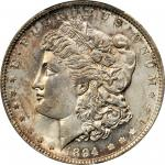 1894-O Morgan Silver Dollar. MS-63 (PCGS). Gold Shield Holder.