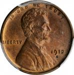 1912-S Lincoln Cent. MS-65 BN (PCGS).