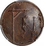 Great Britain--Middlesex. Undated (1790s) End of Pain Farthing Token. D&H-1105, W-8920. Copper. Plai