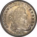 1803 Draped Bust Silver Dollar. Bowers Borckardt-255, Bolender-6. Rarity-2. Large 3. Mint State-63 (