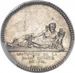 ÉGYPTE Directoire (1795-1799). Jeton pour la Conquête de la Basse-Égypte An VII (1798), Paris.