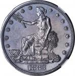 1883 Trade Dollar. Proof-61 (NGC).
