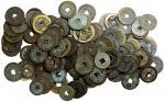清代铜钱166枚一组 美品