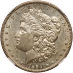 1894-O Morgan Dollar. NGC AU55