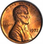 1972 Lincoln Cent. FS-101. Doubled Die Obverse. MS-65 RD (PCGS). OGH.