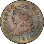 1814 Capped Bust Dime. John Reich-1. Rarity-3. Small Date. Mint State-66+ (PCGS).