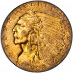 1908 Indian Quarter Eagle. MS-63 (PCGS). CAC.