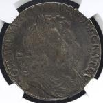 GREAT BRITAIN William&Mary ウィリアム&メアリー(1688~94) Crown 1692/逆2 NGC-VF DetailsStained 小锖ある以外 F+