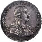 ITALY. Sicily. Oncia of 30 Tari, 1791-GLCI. Ferdinand III (1759-1825). NGC MS-61.
