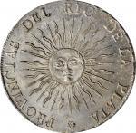 ARGENTINA. Rio de la Plata. 8 Reales, 1815-PTS F. Potosi Mint. PCGS MS-63 Gold Shield.