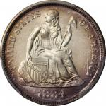 1884-S Liberty Seated Dime. MS-67 (PCGS).
