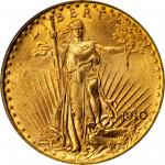 1910-D Saint-Gaudens Double Eagle. MS-64+ (PCGS).