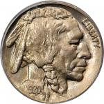 1920-D Buffalo Nickel. MS-65 (PCGS).