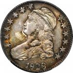 1823 Capped Bust Half Dollar. O-106a. Rarity-2. AU-58 (PCGS). Retro OGH.
